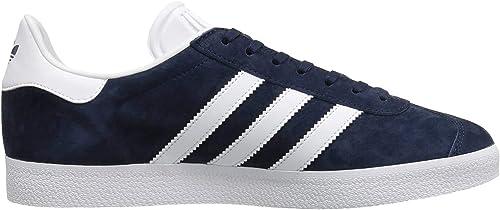 adidas Originals Gazelle Sneaker da Uomo, Blu (Collegiate Navy White Gold Met), 42 23 EU