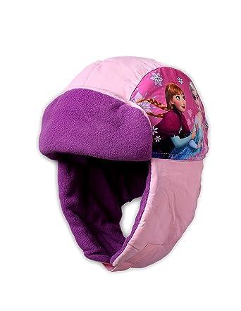 La Reine des Neiges Bonnet - Chapka enfant fille Rose et Violet de 3 à 9ans  - Rose violet, 54 cm (6-8 ans)  Amazon.fr  Vêtements et accessoires c6562250763