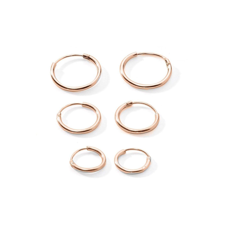 3 Pairs Cartilage Sterling Endless Earrings Image 2