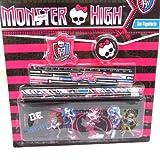 Stationery set 'Monster High' black rose (6 pieces).