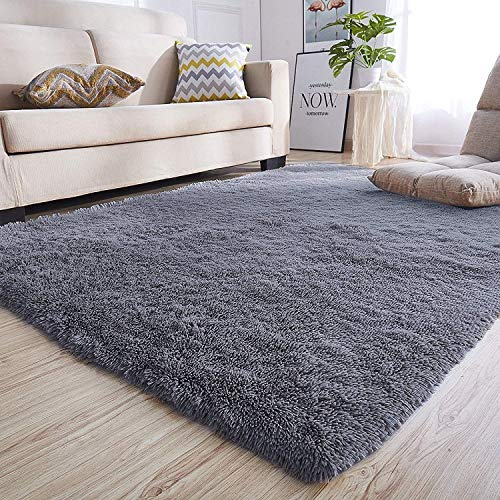 Bedroom Kids Anti Rug Room Slip Mats Fluffy Rugs Carpets Soft 5×5 3 Floor For 6 Area Tecare Shaggy 160×200cm Living Hallway eDYEH2IW9