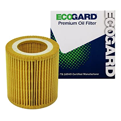 ECOGARD X5607 Cartridge Engine Oil Filter for Conventional Oil - Premium  Replacement Fits BMW 328i, X3, X5, 328i xDrive, 528i, 335i, 535i, 535i