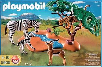 Playmobil African Safari Zebras, Gazelle & Cheetah