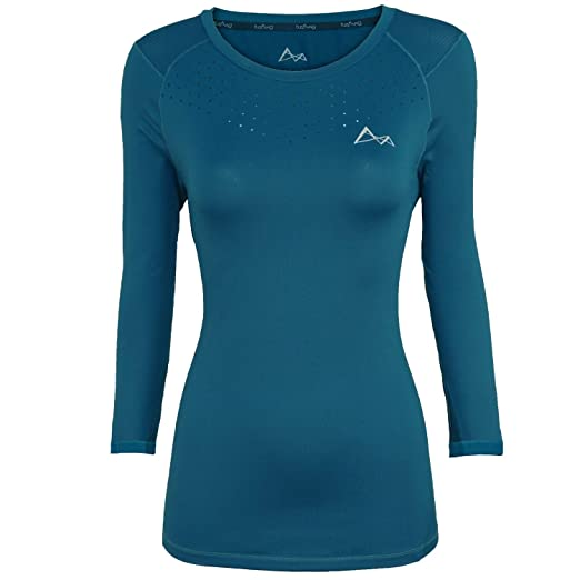 9f8843d6888 Image Unavailable. Image not available for. Color  Turaag Long Sleeve T- Shirt for Women Quick Dry Moisture Wicking ...