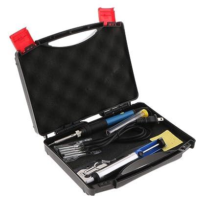 SM SunniMix Kit de Soldadura Electrónica Temperatura Ajustable Herramientas Manuales Fontanería