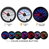 GlowShift White 7 Color 30 PSI Turbo Boost/Vacuum