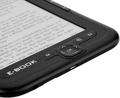 E-Book Reader, lector de libros electrónicos portátil E-Paper E ...