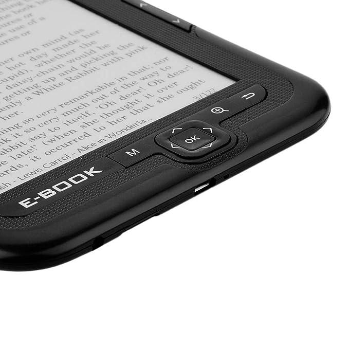 Neufday Papel electrónico portátil Tinta electrónica Lector ...