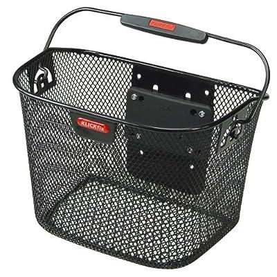 KlickFix by Rixen & Kaul Mini basket - black : Biking Quick Releases : Sports & Outdoors
