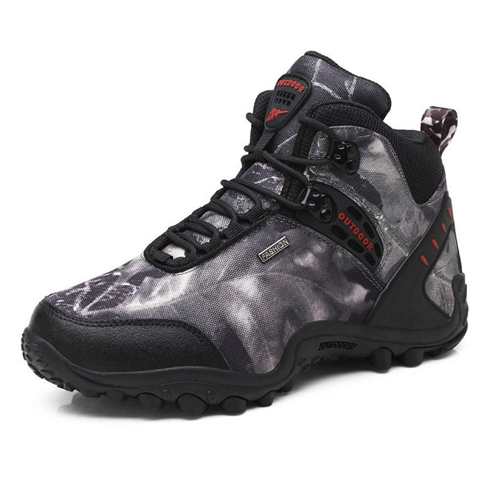 DSX Wanderschuhe Herren Wanderschuhe Outdoor Schuhe Herren Wasserdichte Stiefel Herren Stiefel Trekking Schuhe, Wanderschuhe, 8UK