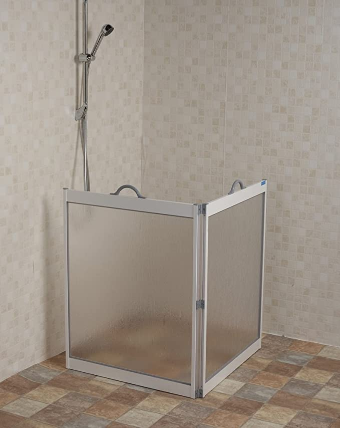 NRS Healthcare CS1 - Mampara de ducha portátil: Amazon.es: Salud y cuidado personal