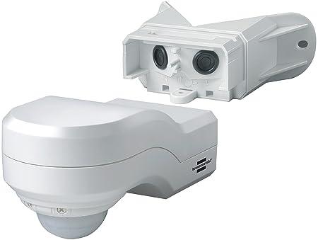 Brennenstuhl 1170910 Detector de Movimiento, Blanco: Amazon.es: Bricolaje y herramientas