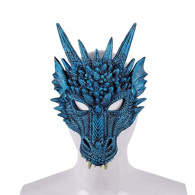 Amazon.com: Máscara de Halloween, máscara de cabeza de ...