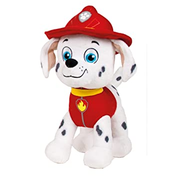 Ousdy - Peluche de Patrulla Canina 18cm Super Soft (MARSHALL)
