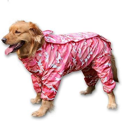 New Dog Clothes Rain coat Jump suit PINK XXS-XXL 4 Sm Breed Please Measure