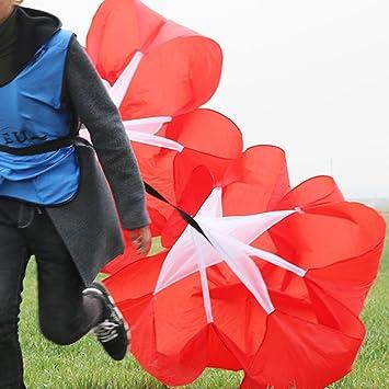 LeKing - Paraguas de Resistencia de Fútbol, Paracaídas, Entrenamiento Físico, Fitness, Correr