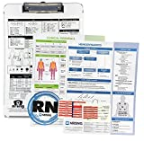 Nursing Clipboard + Toolbox Combo (Nursing Student Gifts and New Nurses, Storage Clipboard, Cheat Sheets, NCLEX Study Material and Drug Cards)