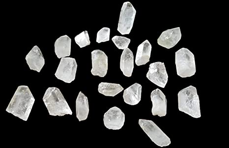 Clear Quartz Cluster Nice Shapes Clear Mineral Healing Silica Gem Points,,