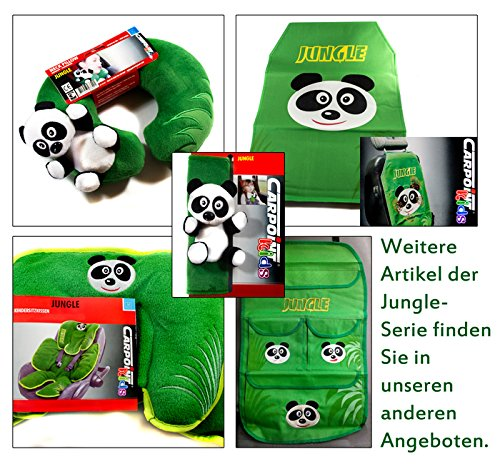 Gurtschoner Kinder Auto-Sicherheitsgurt /… Carpoint Kids Kollektion Gurtpolster Model Panda aus der Jungle Serie