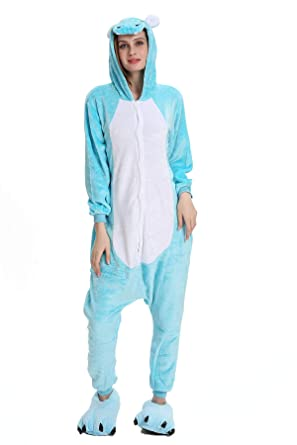 294362f749 Tuopuda Animal Pajamas Unisex Adult Animal Pyjamas Onesies Sleepwear Party  Cosplay Costume Christmas Halloween One Piece Pajamas Homewear   Amazon.co.uk  ...