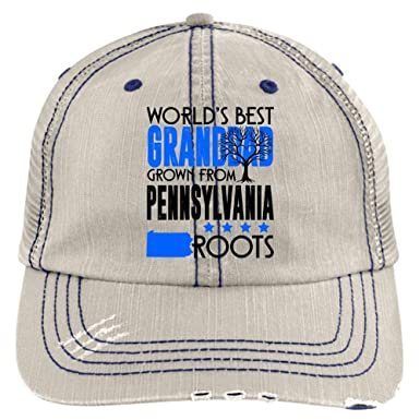 new arrival e8959 e0073 Pennsylvania Granddad Hat, The World s Best Granddad Trucker Cap (Trucker  Cap - Putty) at Amazon Men s Clothing store