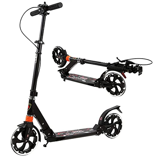 HYE-SCOOTER Commuter Deluxe - Patinete portátil para Adultos ...