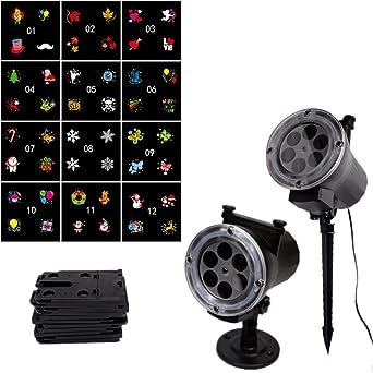 Lámpara de proyector para Navidad, lámpara de proyección para ...