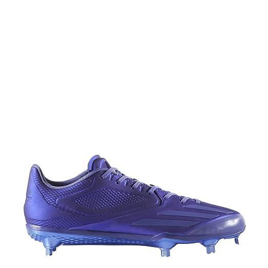 buy popular c5d55 b43da ... Size 7 adidas Adizero Afterburner 3 E Cleat Mens Baseball 6.5 Dark  Purple ...