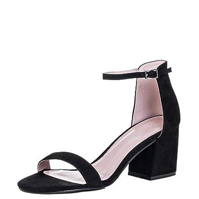 d11bafdadc09c Amazon.com | Spylovebuy Skipjack Women's Open Peep Toe Block Heel ...