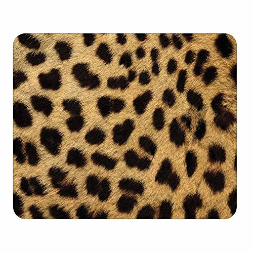 Cheetah Animal Print Mouse Pad - Wildlife Theme Design - Stationery Gift - Computer Office Business School - Stationery Print Animal