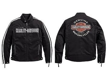 Harley-Davidson Rally 98163-17EM - Chaqueta motera de tela ...
