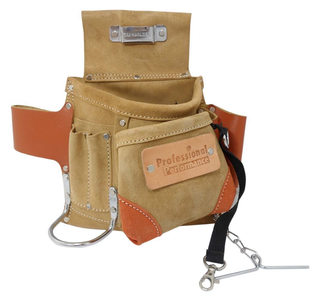 Professional Performance All Leather Electrician's Tool Pouch