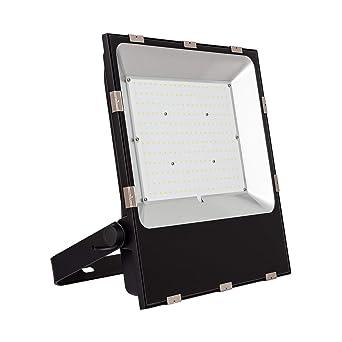 Foco Proyector LED 200W Slim Blanco Cálido 3000K-3500K: Amazon.es ...