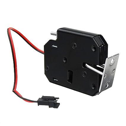 Gugutogo Control de acceso 150KG / 330lb electromagnética cerradura de la puerta del cajón del gabinete