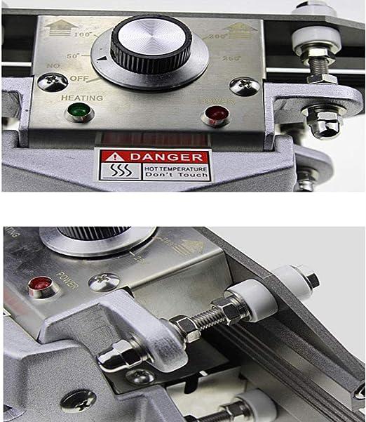 Mophorn FKR-300 12 Hand Held Crimp Sealer 10mm Seal Width Crimp Heat Sealer Temperature Control 0-300℃ Portable Hand Sealer/for Sealing Aluminum Foil Kraft Bags 12 Inch