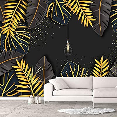 Made With Love, Marvelous Technique, Wall Murals for Bedroom Green Plants Animals Removable Wallpaper Peel and Stick Wall Stickers
