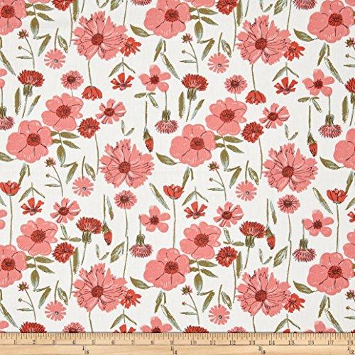 Art Gallery Bountiful Perennial Renewal Fabric By The Yard (Perennials Fabric)