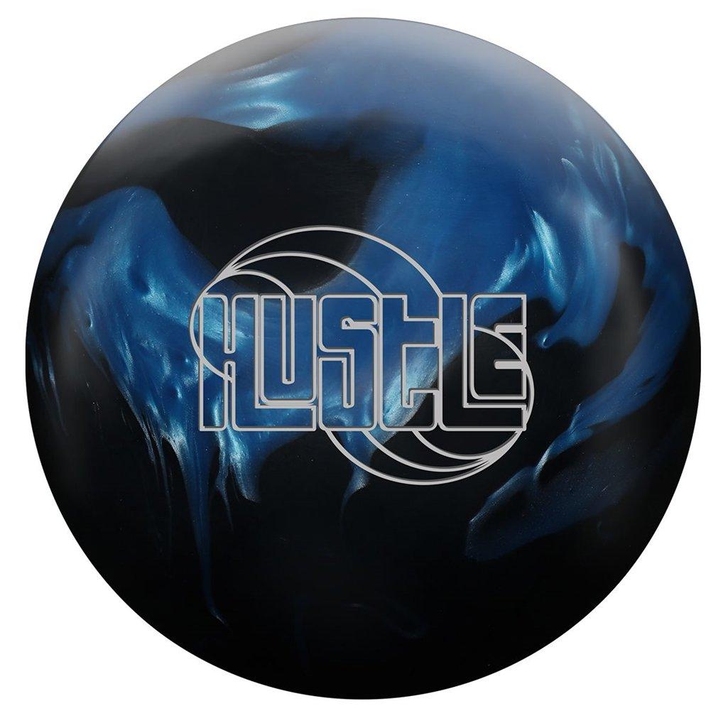 RotoグリップHustle HYB Bowling ball-ブラック/ブルー B078T4B264 14lbs