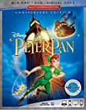 Peter Pan [Blu-ray/DVD/Digital Code]