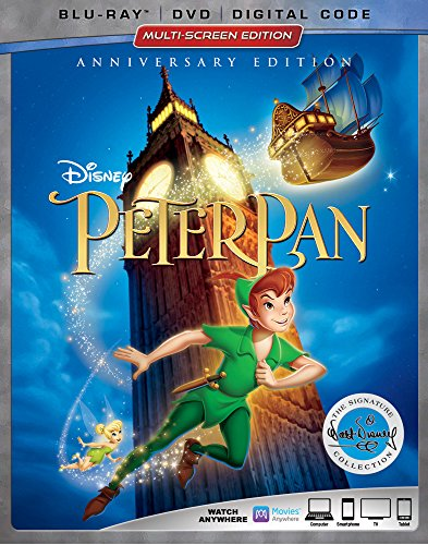 Peter Pan [Blu-ray/DVD/Digital Code]