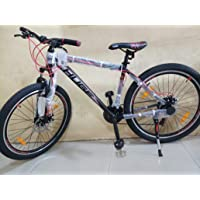 Huge Aluminum-Alloy Mountain Bicycle(17- 27.5 Inch, Black/Red)