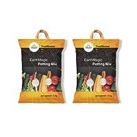 TrustBasket premium enriched organic earth magic potting soil mix fertilizer for plants
