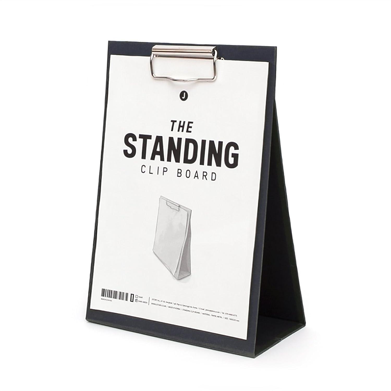 JSTORY Medium Desk Easel Document Holder Standing Clip Board Medium Navy