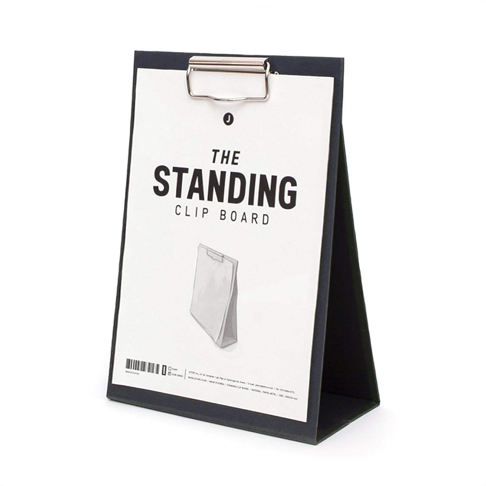 JSTORY Medium Standing Clip Board Medium Navy