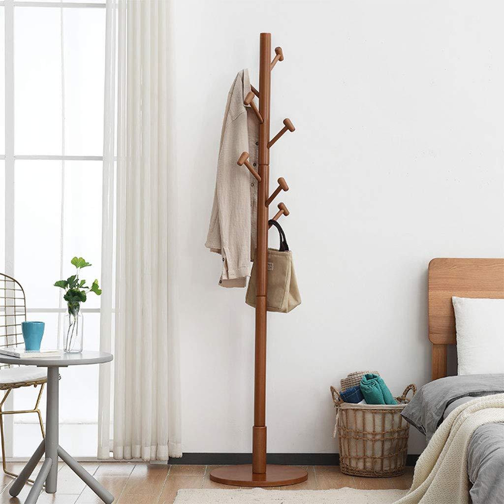 Amazon.com: Perchero vertical de madera para el suelo del ...
