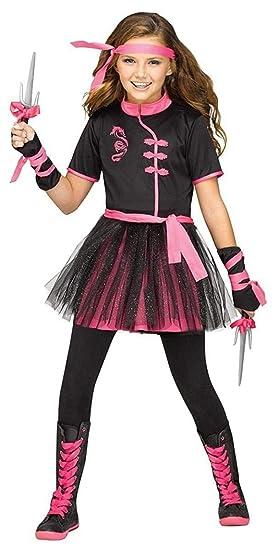 Fun World Ninja Miss Girly Child Warrior Halloween Costume