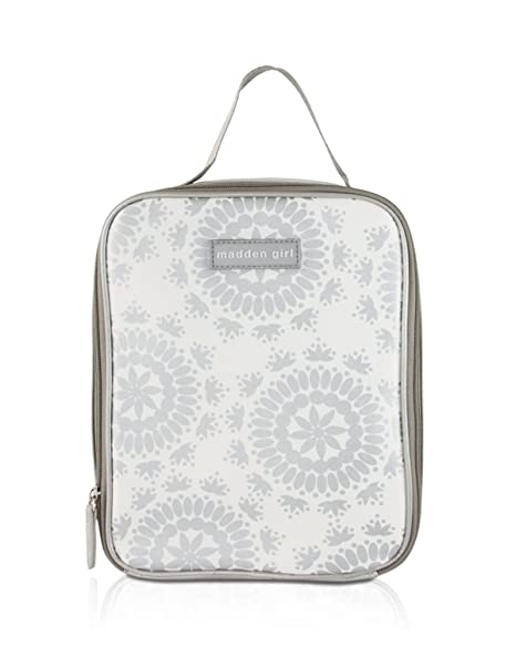 7dca77571d8c19 Amazon.com: Madden Girl Insulated Travel School Top Handle Lunch Bag ...