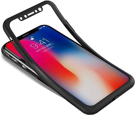 Surakey Cover iPhone X Ultra Sottile Silicone Morbido Custodia