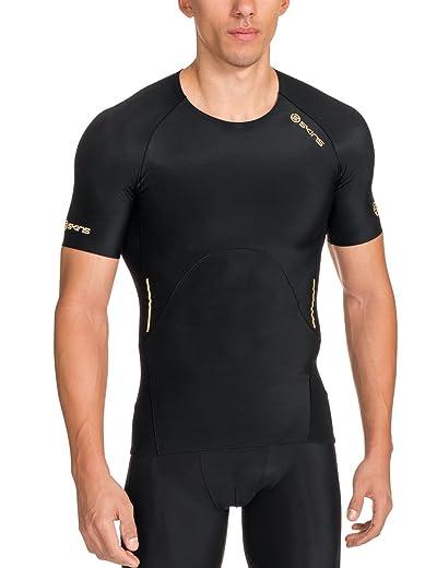 Skins Men's A400 Compression Short Sleeve Top