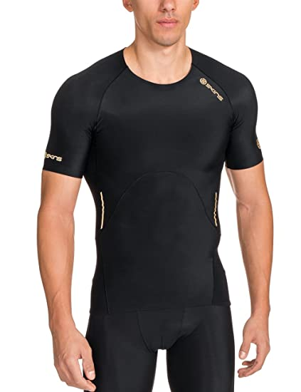 Amazon.com  Skins Men s A400 Compression Short Sleeve Top  Sports ... 95083cd1a